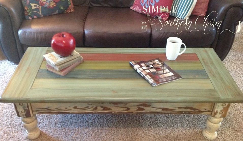 Thrift Find Thursday: Refinished Coffee Table