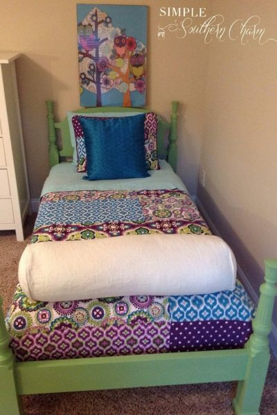 The Girls Beds Are Done…