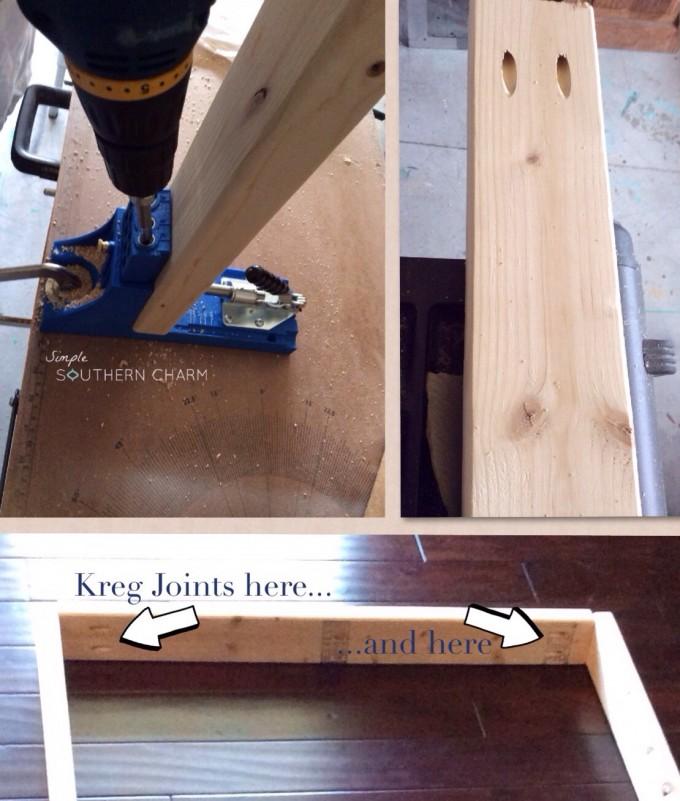 Kreg joints