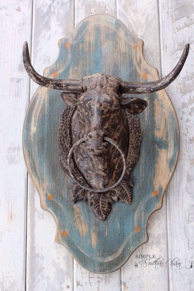 "MMS ""Julia"" inspired Bull Trophy Mount"