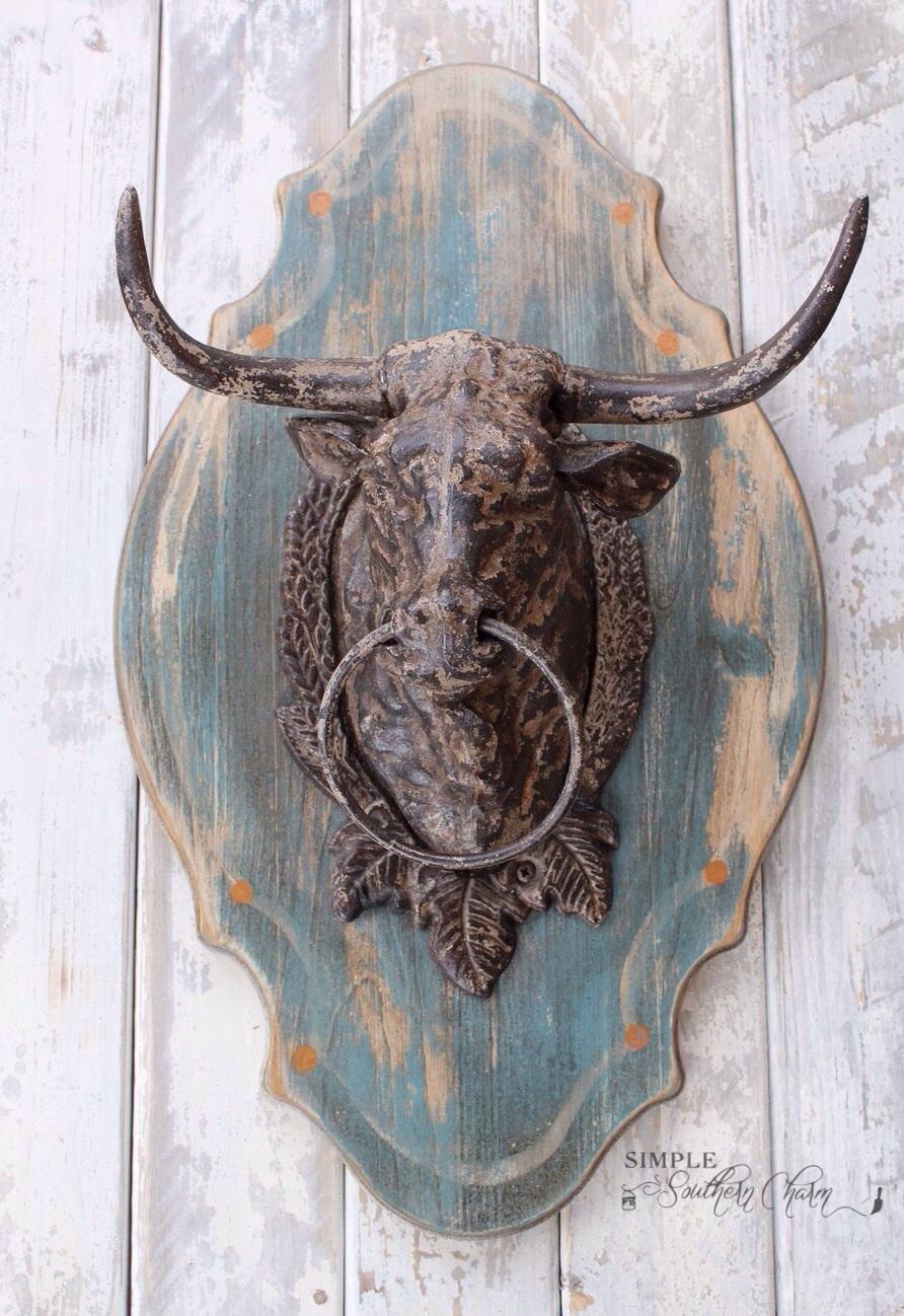"MMS ""Julia"" inspired Bull Trophy Mount"