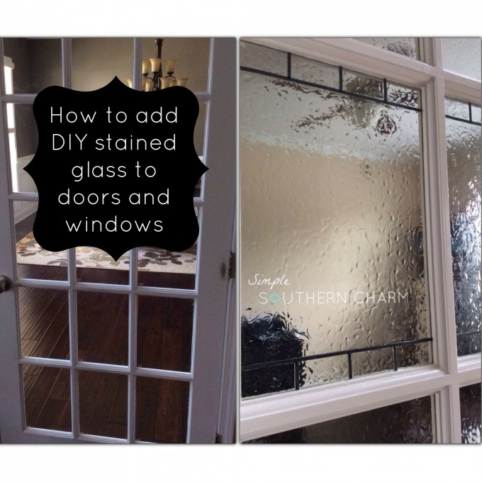 Diy stained glass simple southern charm diy stained glass planetlyrics Image collections