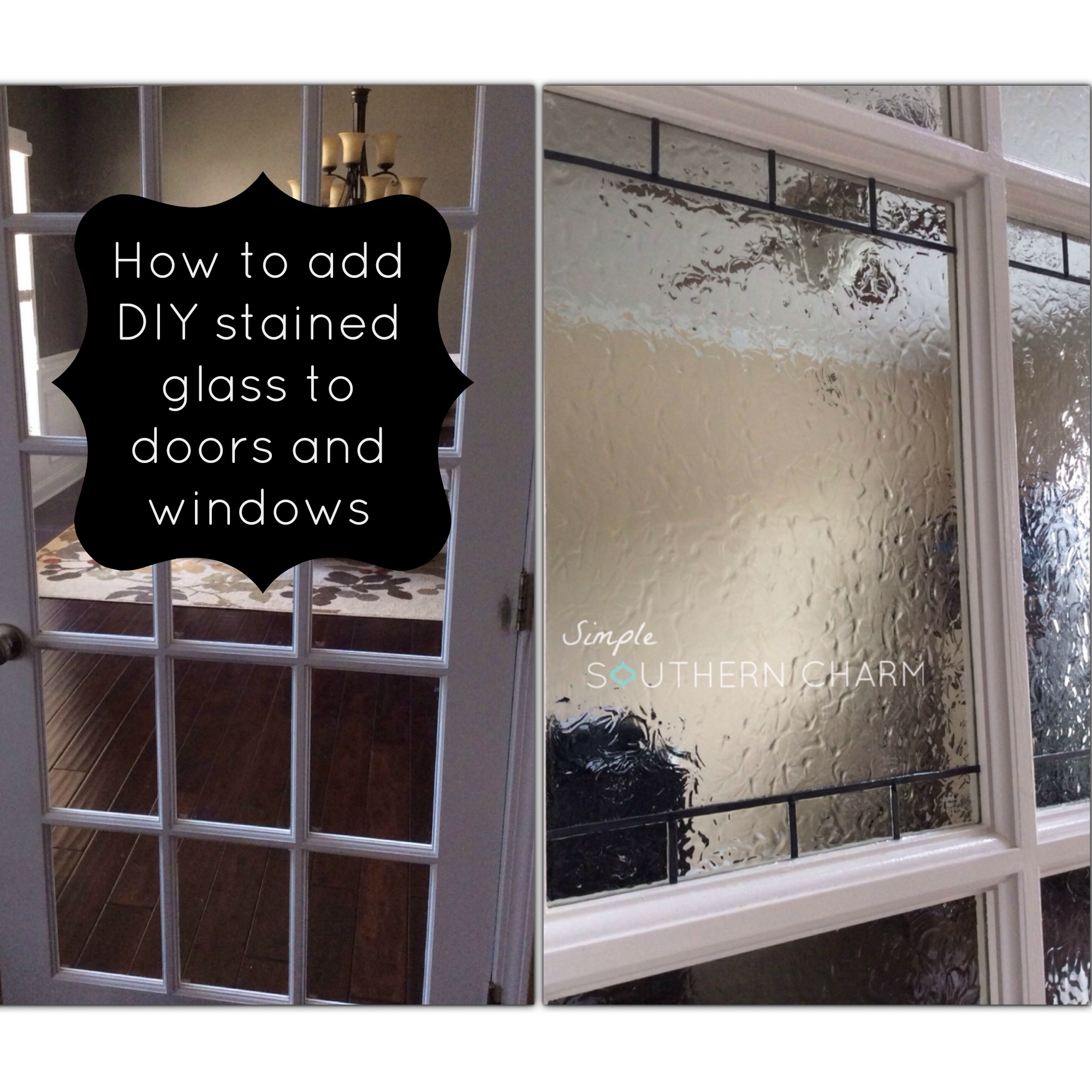 DIY Stained Glass