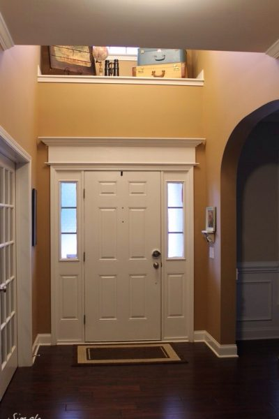 Beef Up Your Door with DIY Molding