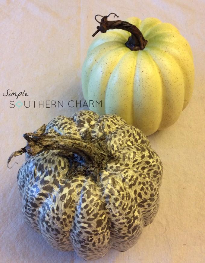 mod podge pumpkins 9